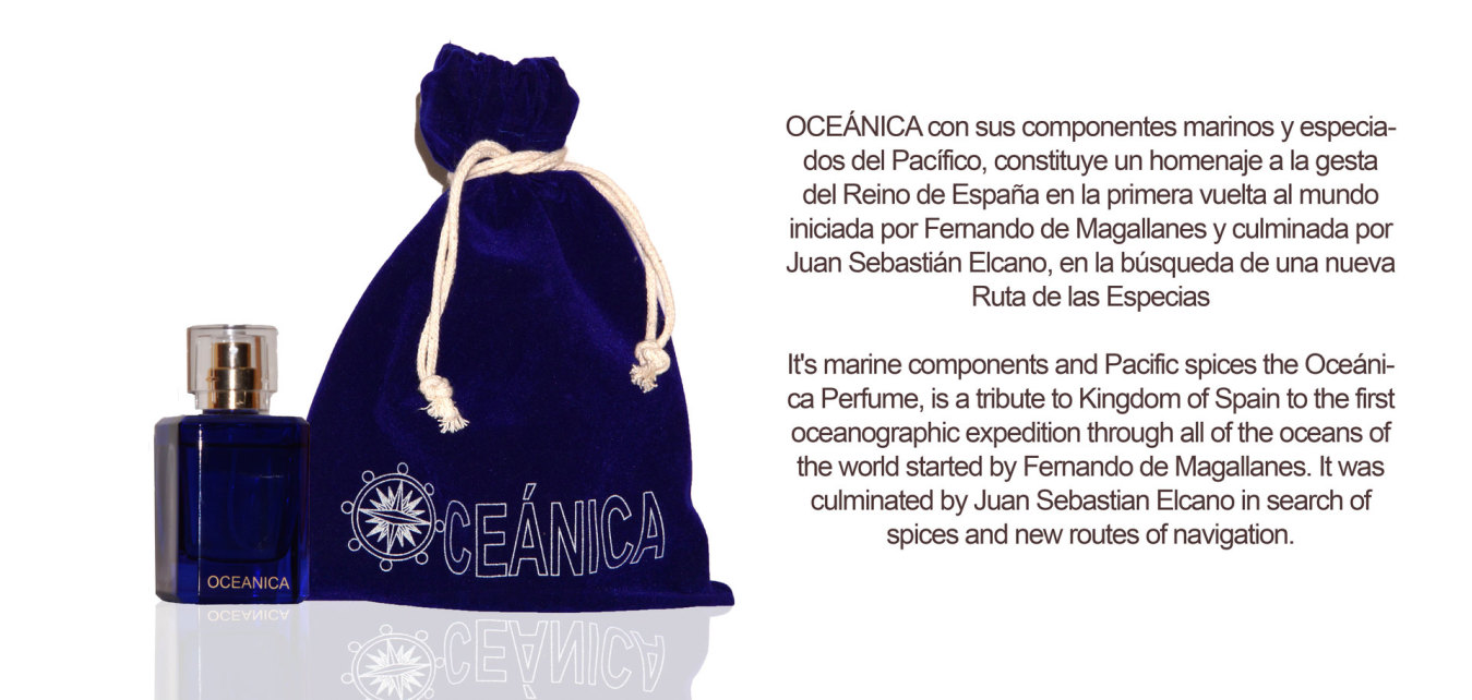 Perfume OCEANICA, Perfume Sevilla, Perfume Córdoba, Perfumes de autor.